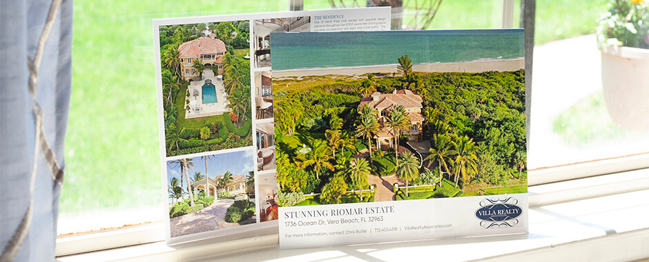 Highlight new properties or recent closings with EDDM® postcards.