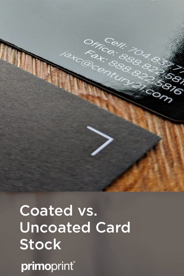 Let us help you select the best card stock for your project. The difference between Coated and Uncoated card stock.