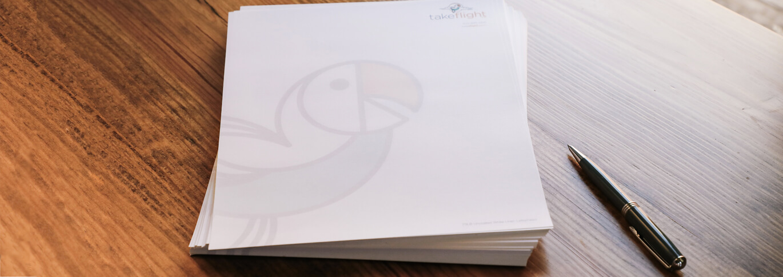 Make a statement with premium company letterhead.