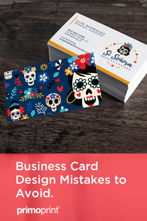 Before you get started and design your business card, we've listed 10 common business card mistakes that should be avoided during the design process.