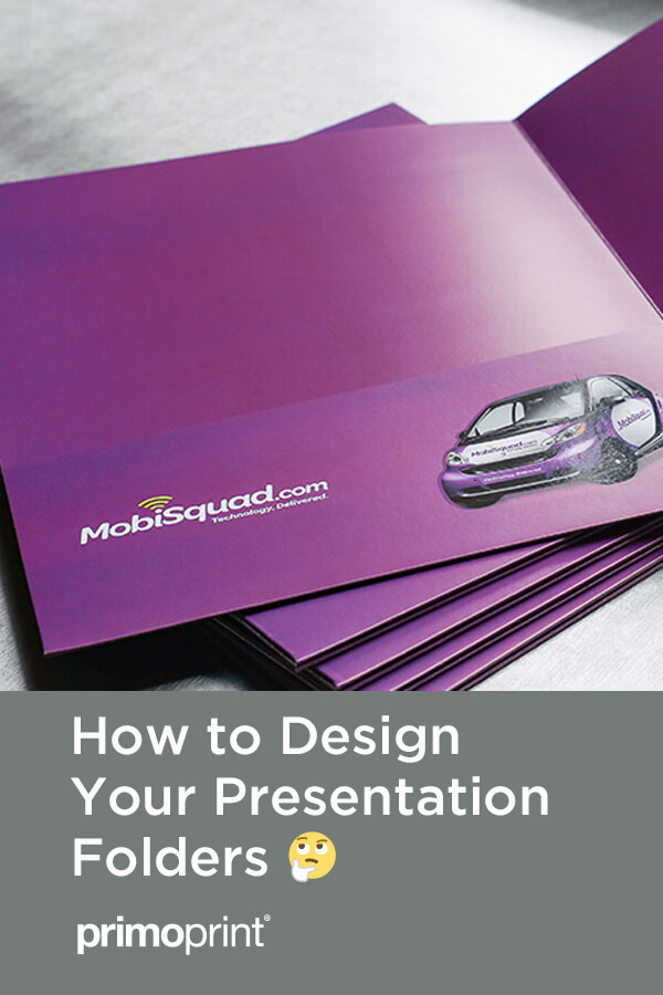 Before you order your business folders, we've included information that is a guide to help you in the design and ordering process of your custom presentation folders.