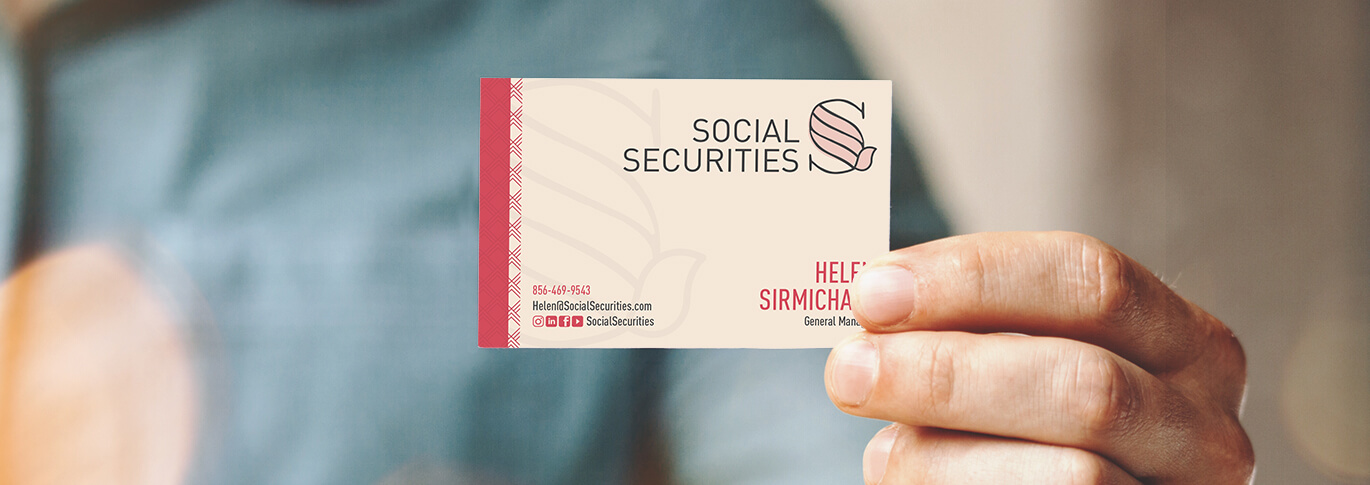 Learn why you should include social media profiles on your business cards.