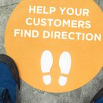 Keep your customers safe with custom floor decals.