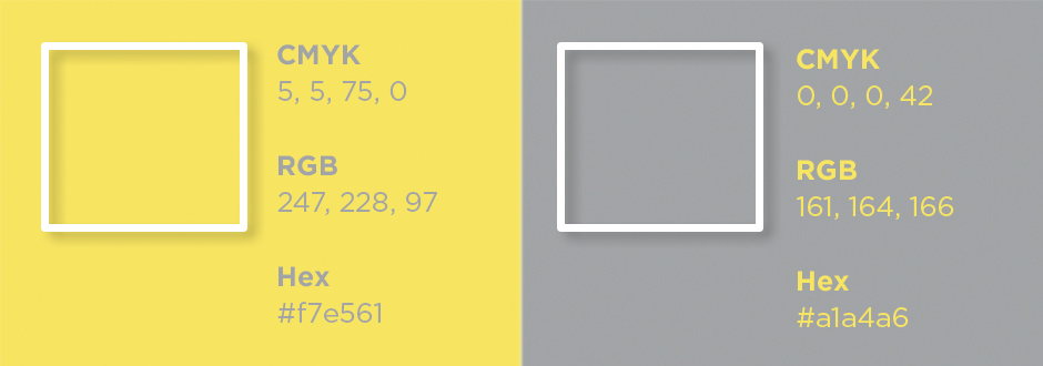 The breakdown of Pantone color to CMYK.