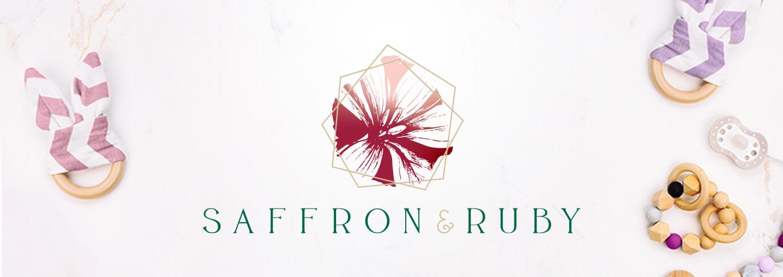 Graphic Design Feature: Saffron & Ruby