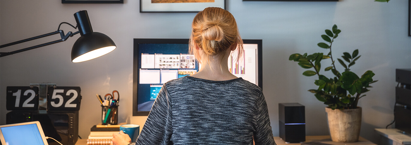 Learn how to stay motivated while working form home.