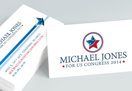 Political Business Cards