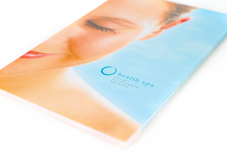 100LB Gloss Book<br/>w/ Satin Coating Brochures & Flyers