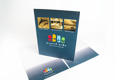 100LB Gloss Cover Presentation Folders