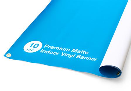 10mil Premium Matte Indoor Vinyl Banners