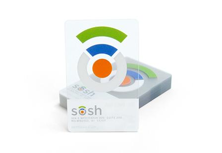 30mil Clear PVC Plastic Cards