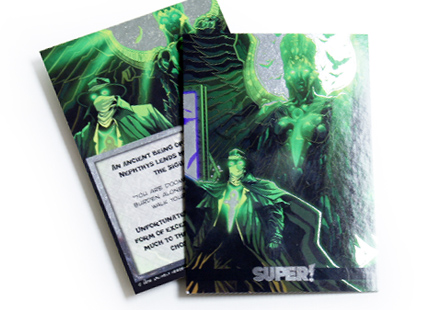 Glossy UV Coated w/ Inline Foil Trading Cards