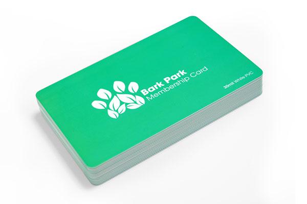 30mil White PVC Plastic Cards