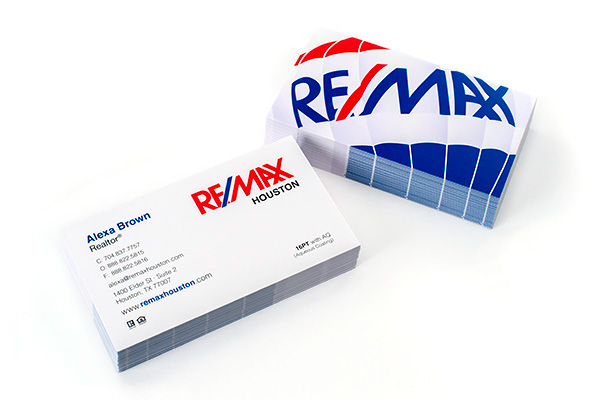 16PT Aqueous Coated Business Cards