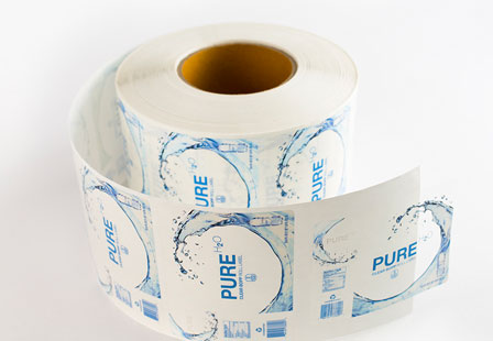 Clear BOPP Labels Roll Labels