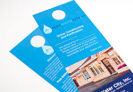 100LB Gloss Book Door Hangers