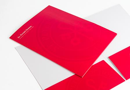 Matte Presentation Folders