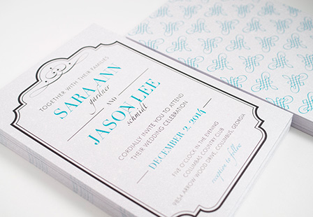 Pearl Metallic Invitations and Announcements