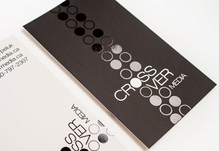 Silk w/ Spot UV Business Cards