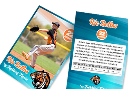 Print Custom Trading Cards  Sports Baseball Etc  Primoprint