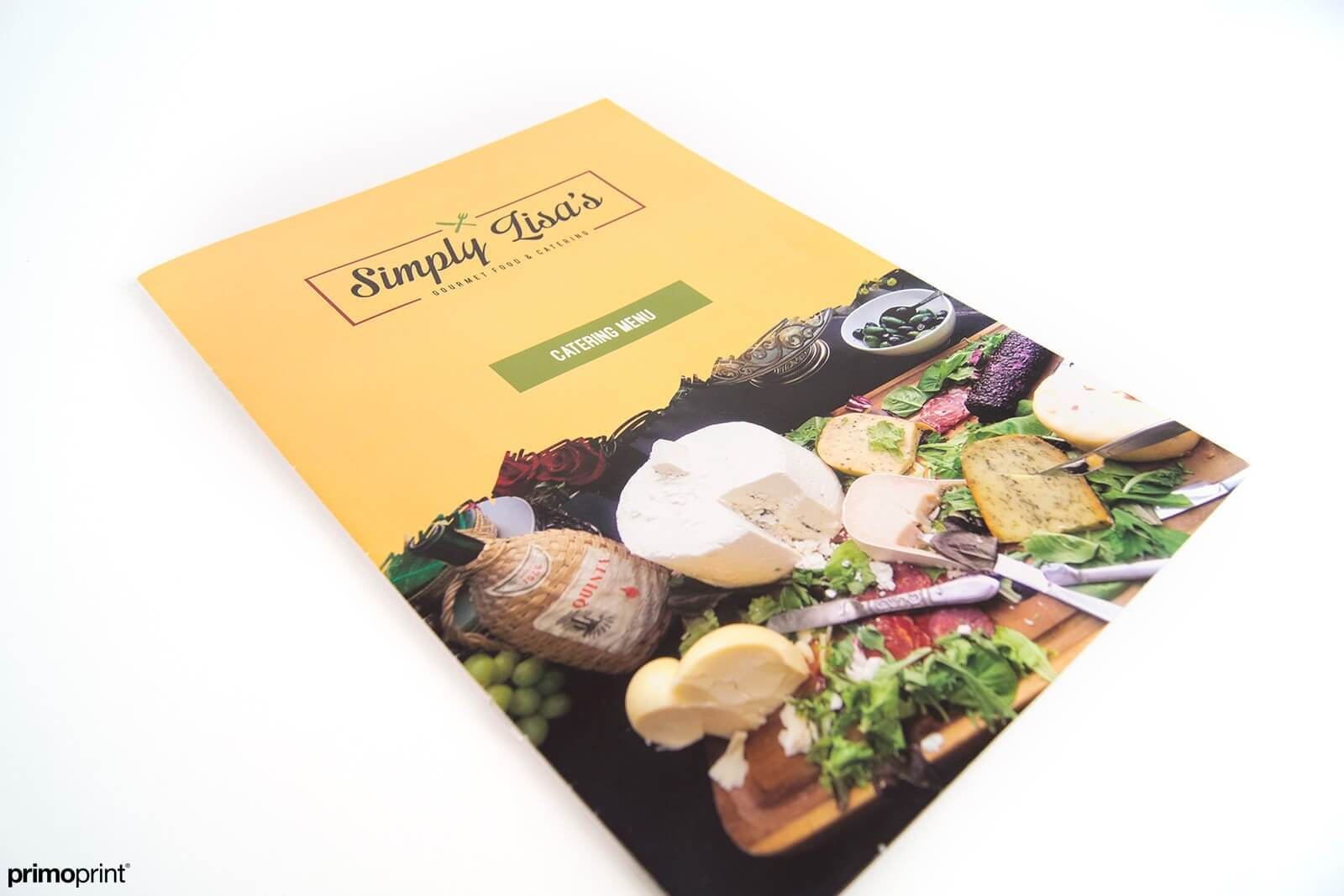 Thicker cover stock with a protective aqueous coating printed by Primoprint.