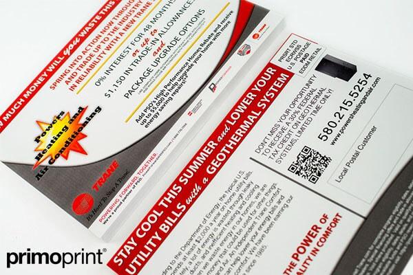 16PT UV Coated EDDM Poatcard