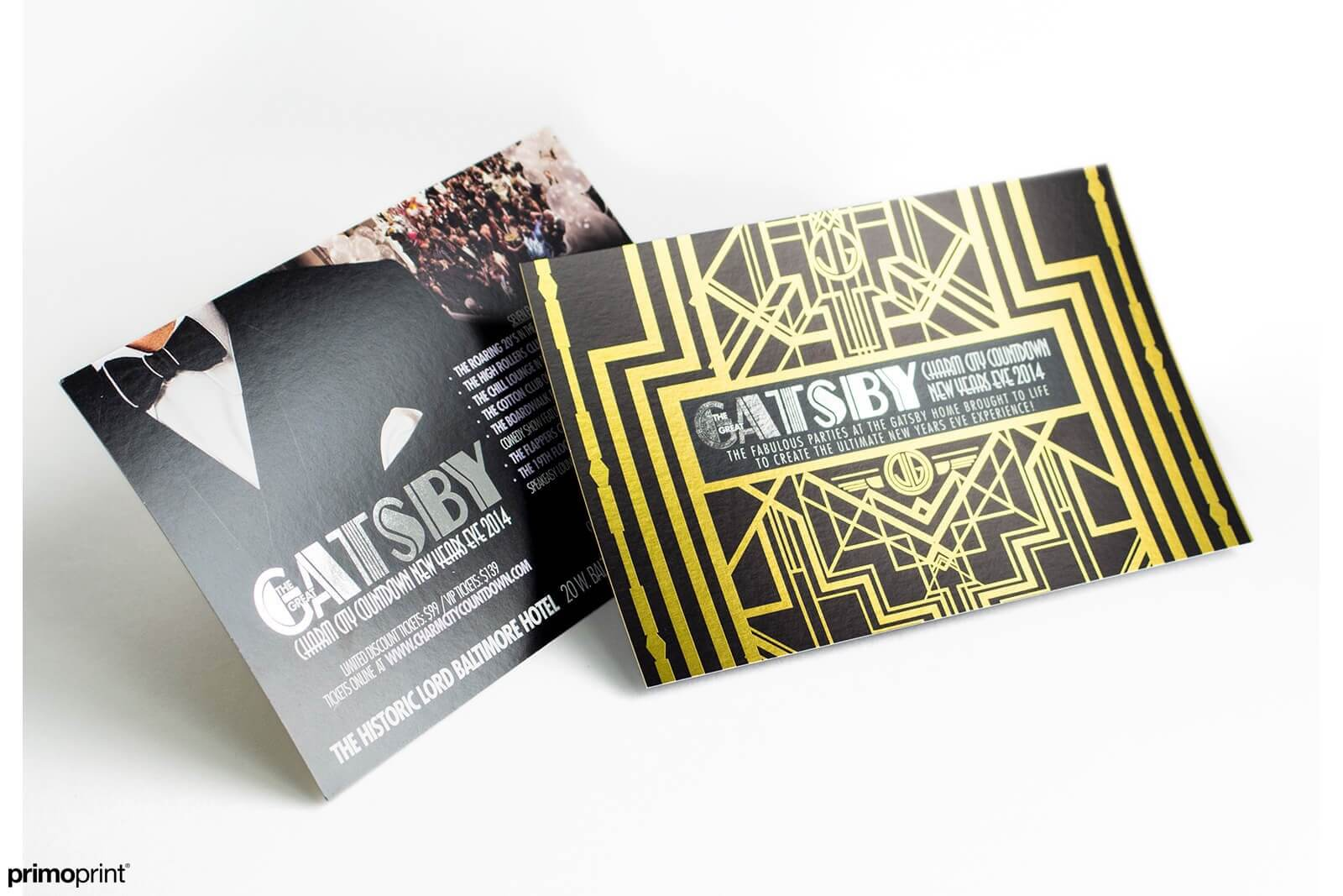 16PT Inline Foil Postcard Printed by Primoprint
