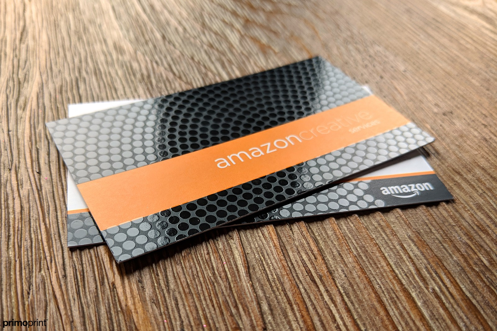 Premium Matte Buisness Card with Spot UV.