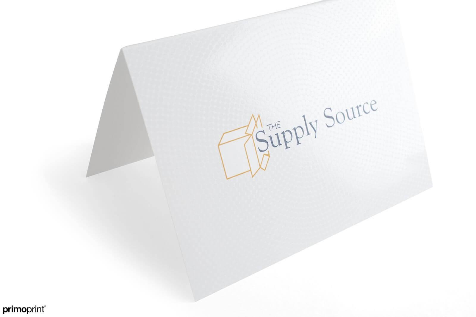 16PT Silk Spot UV Greeting Card Printed by Primoprint