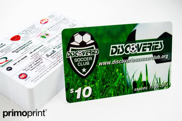 30mil Plastic Card Printed by Primo Print
