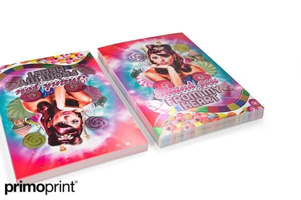 inline foil, inline foil postcard