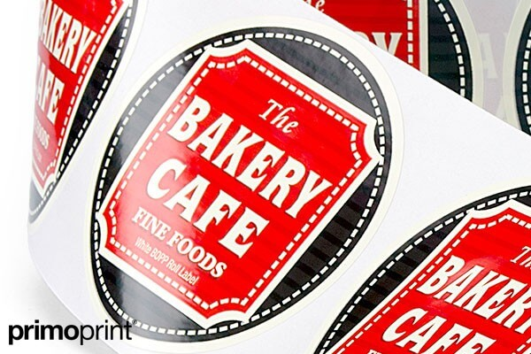 3 Inch White BOPP Roll Label Printed by Primo Print