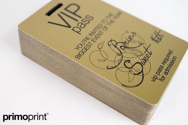 plastic card