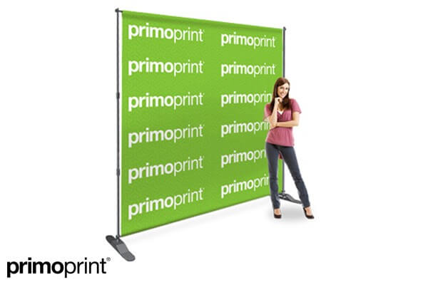 Allow your business or charity event get noticed with our backdrop banner stand.