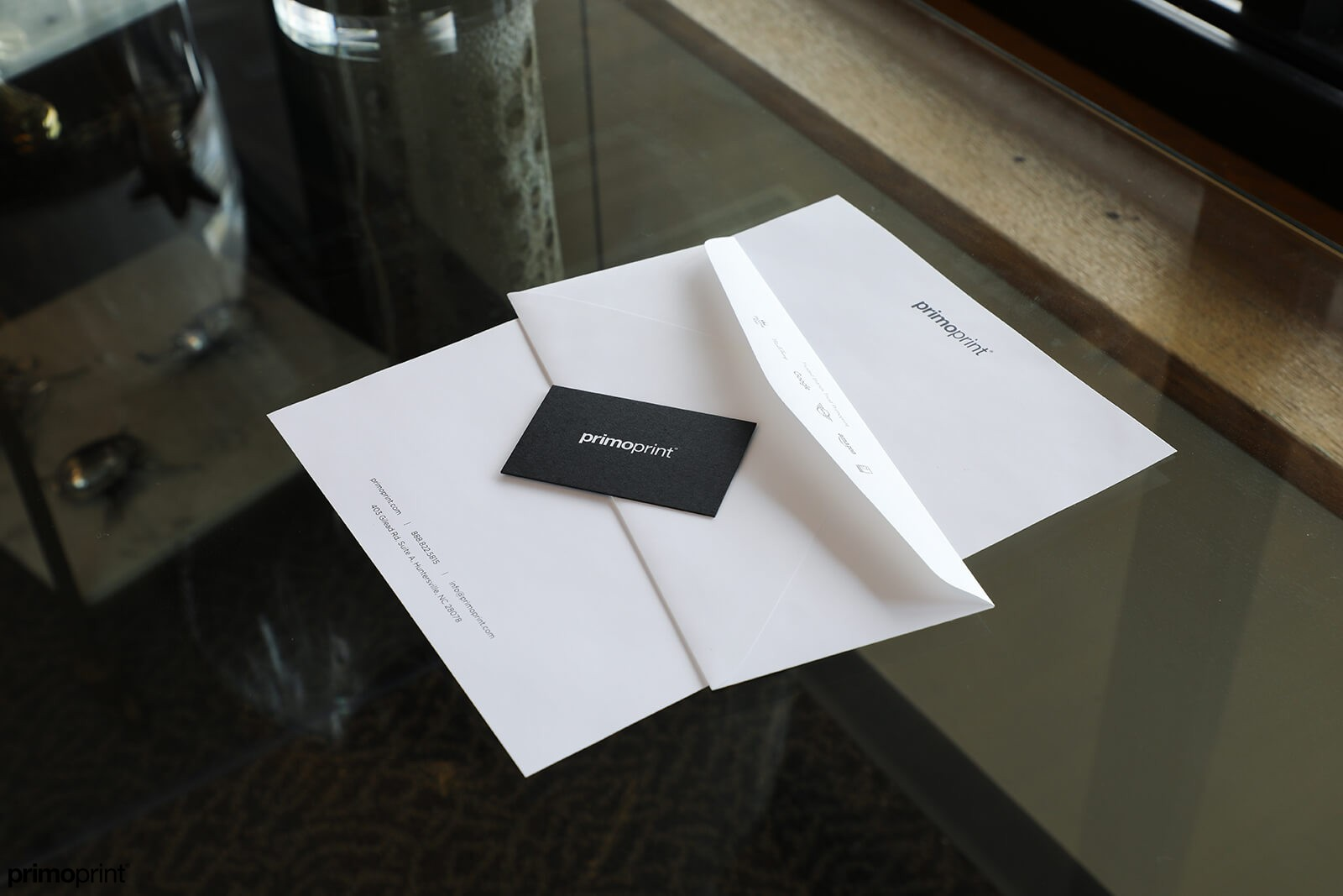 Premium business letterhead.
