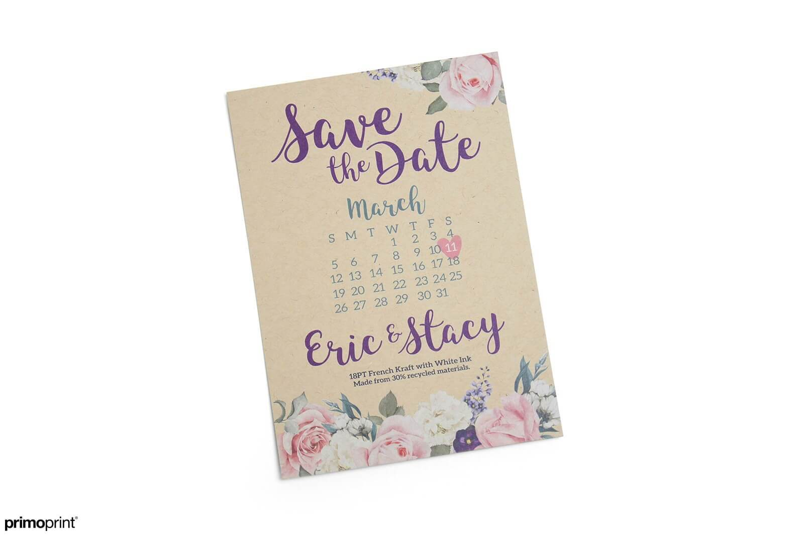 Environmentally friendly stock that provides rustic appearance. 30% recycled making these postcards a popular choice.