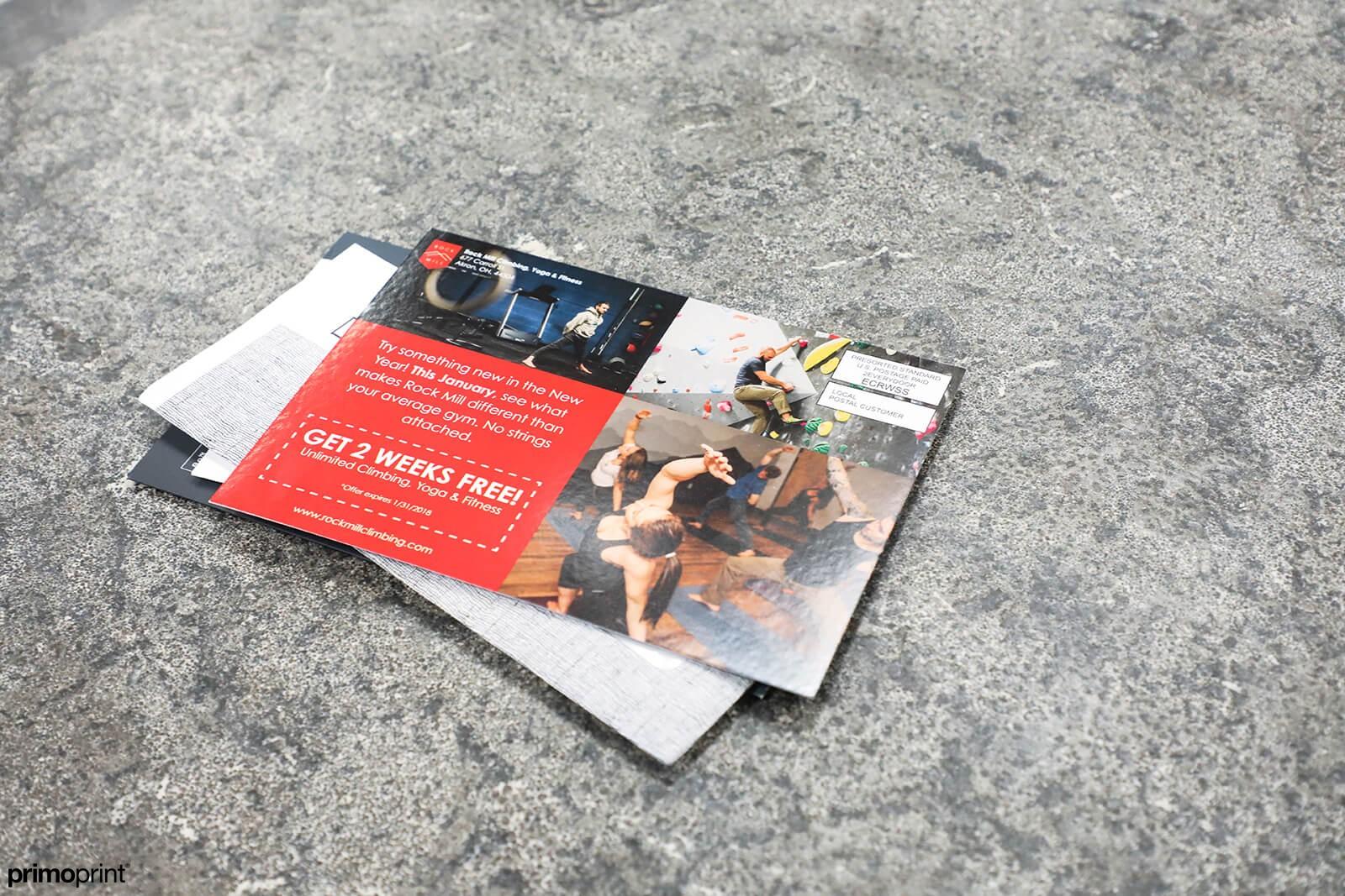 Custom printed EDDM® Postcards