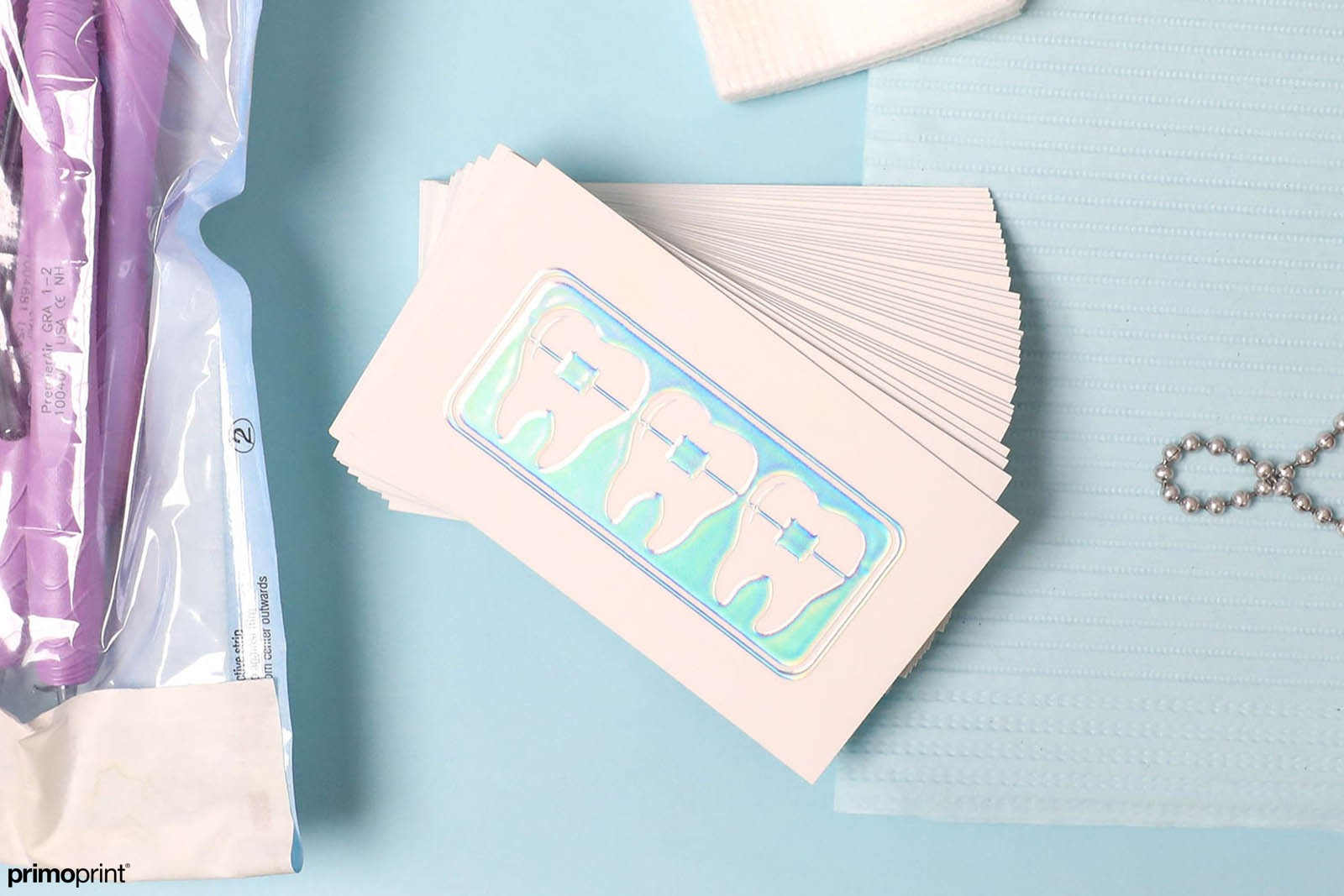 Demand attention with Holographic Foil Business Cards