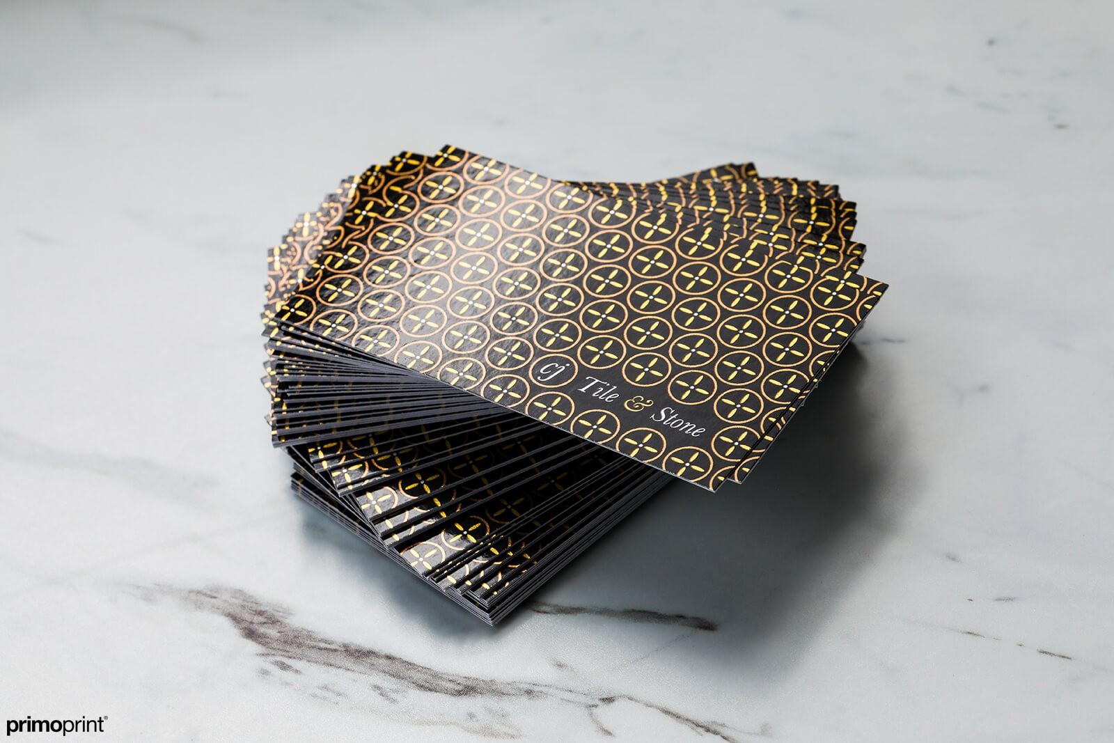 Premium Inline Foil Business Card