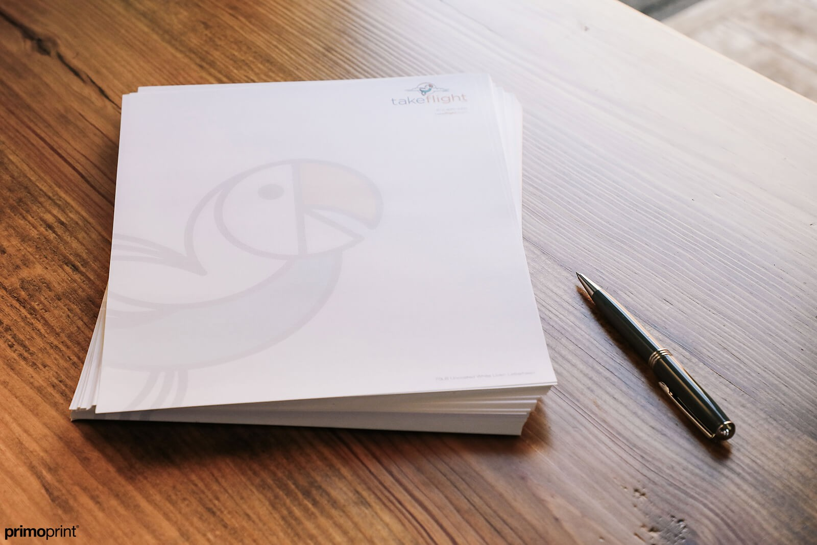 Premium Linen Business Letterhead