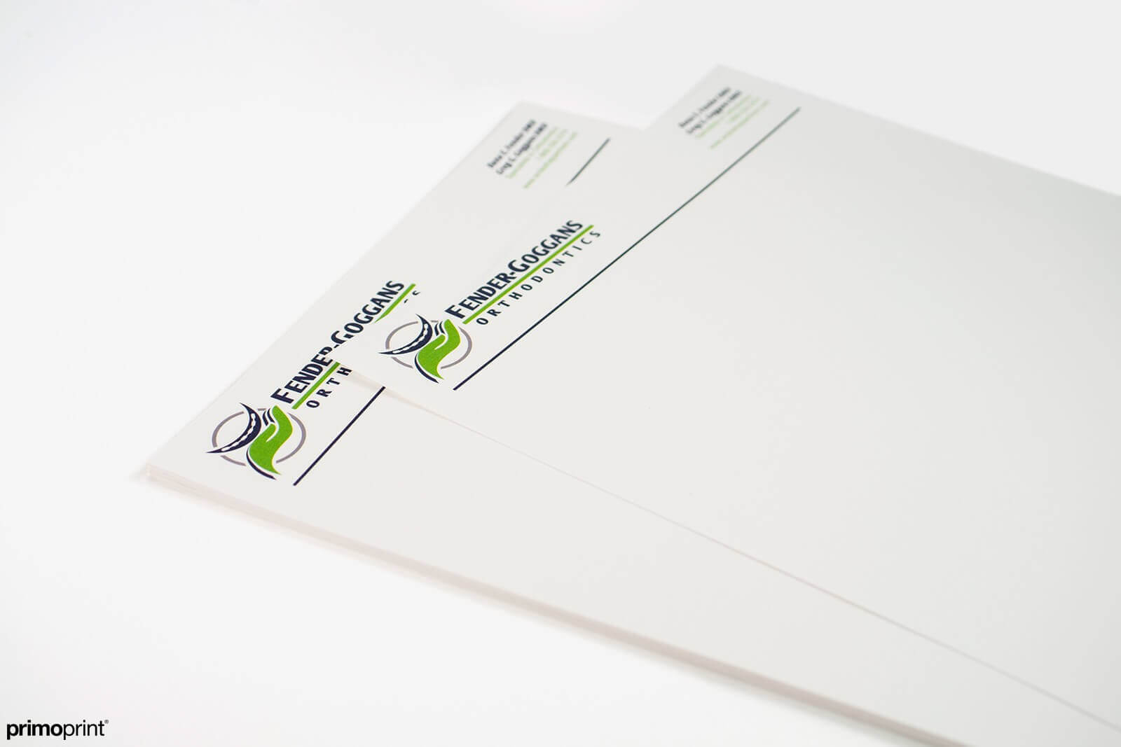 Linen Letterhead Printed by Primoprint.
