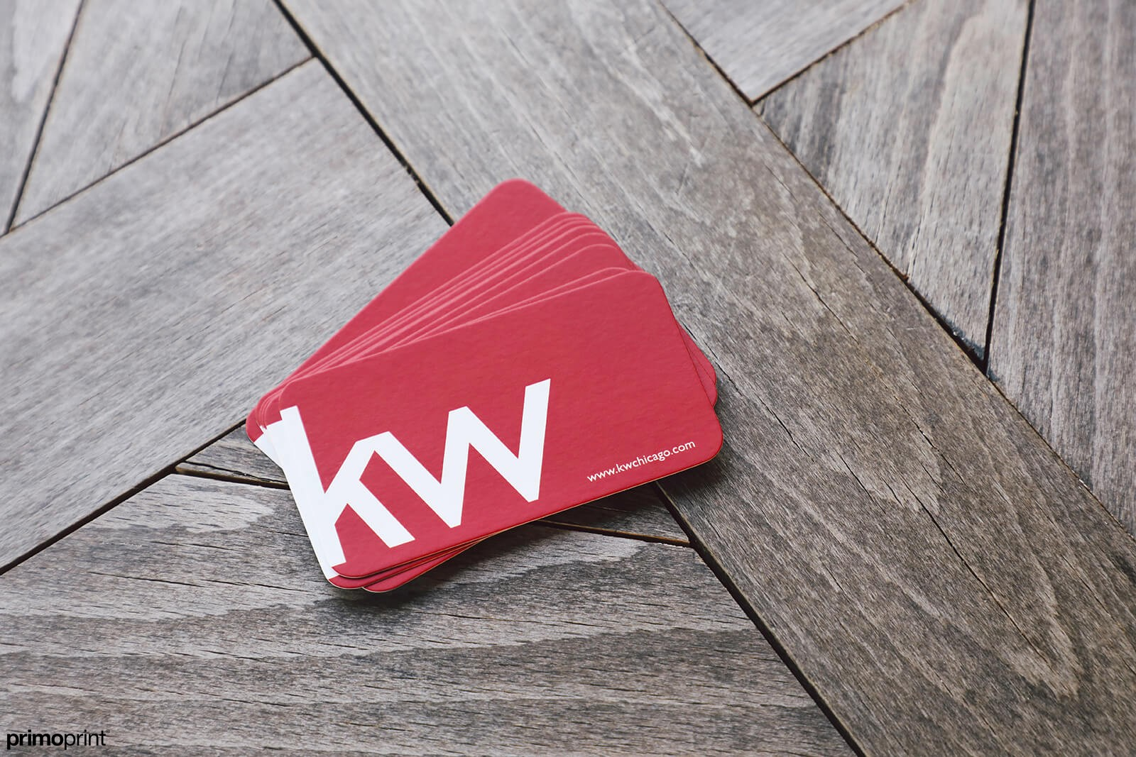 Matte Business Card - KW Realty | Primoprint