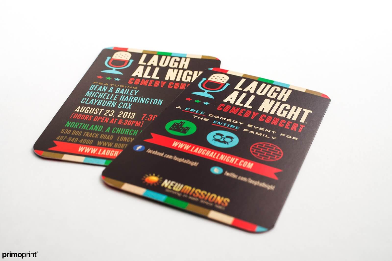 Matte Business Card with Rounded Corners | Primoprint