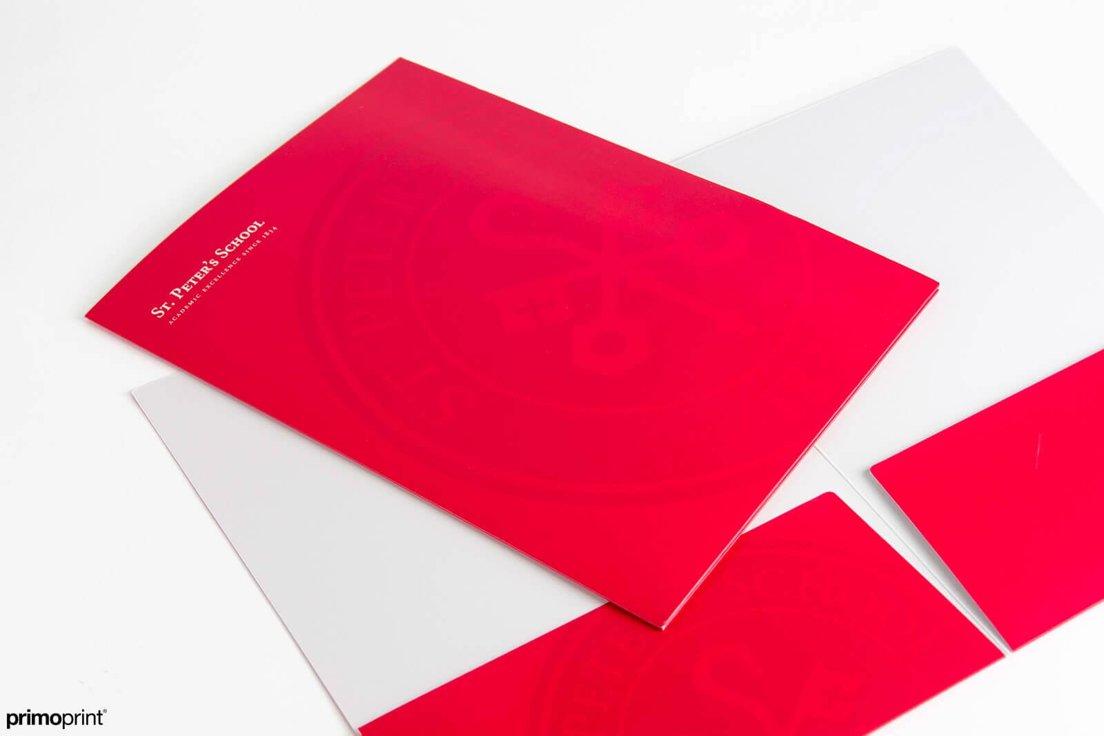 Matte Presentation Folder Printed by Primoprint