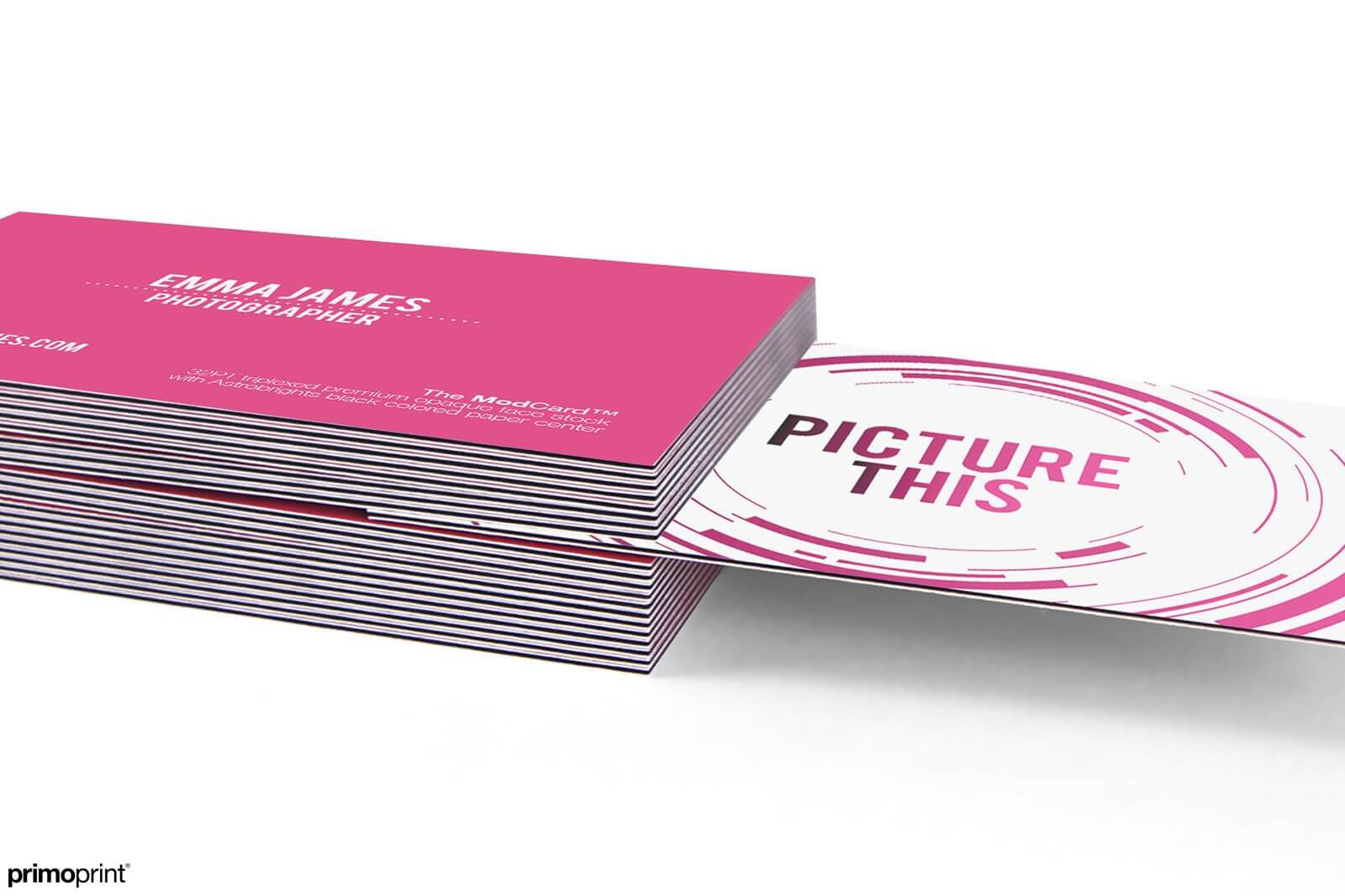 32PT Thick Business Card designed by Primoprint.