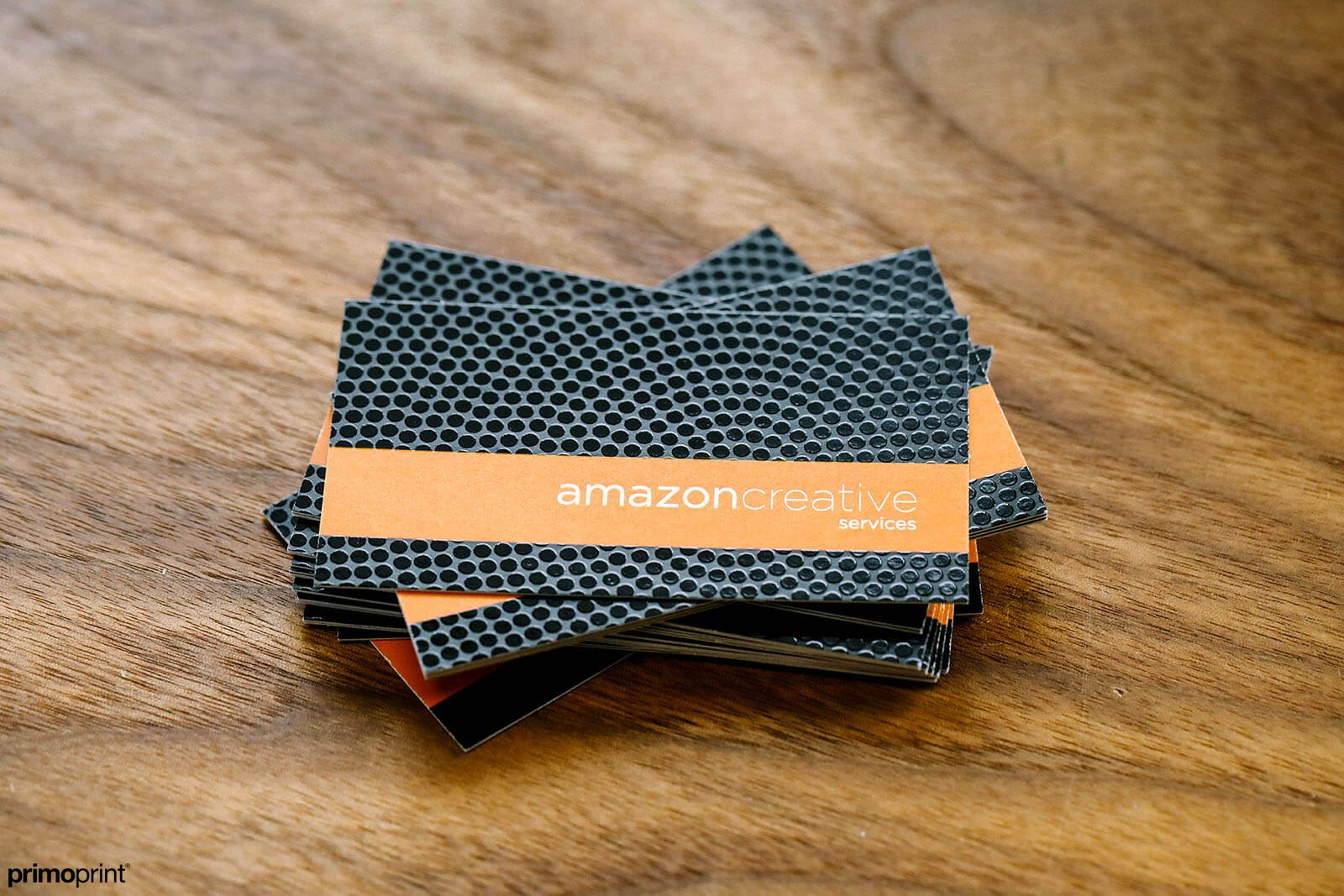 Create highlights, dimension and contrast to your Matte business card by adding Spot UV.