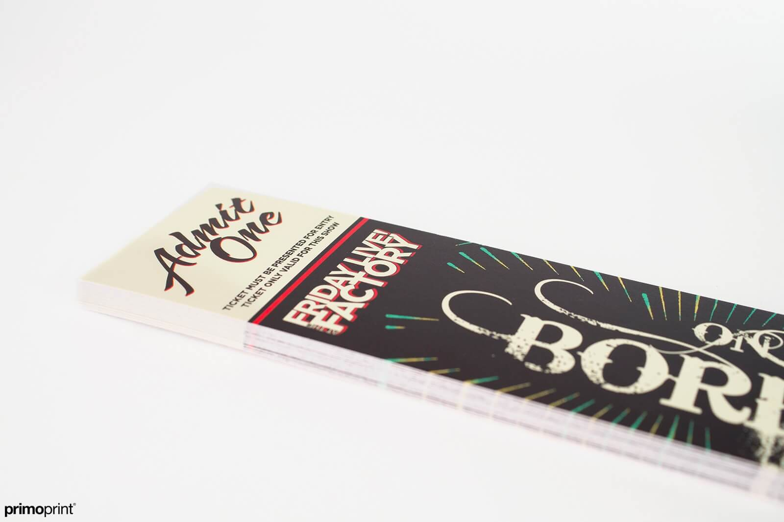 14PT uncoated premium bookmark printed by Primoprint