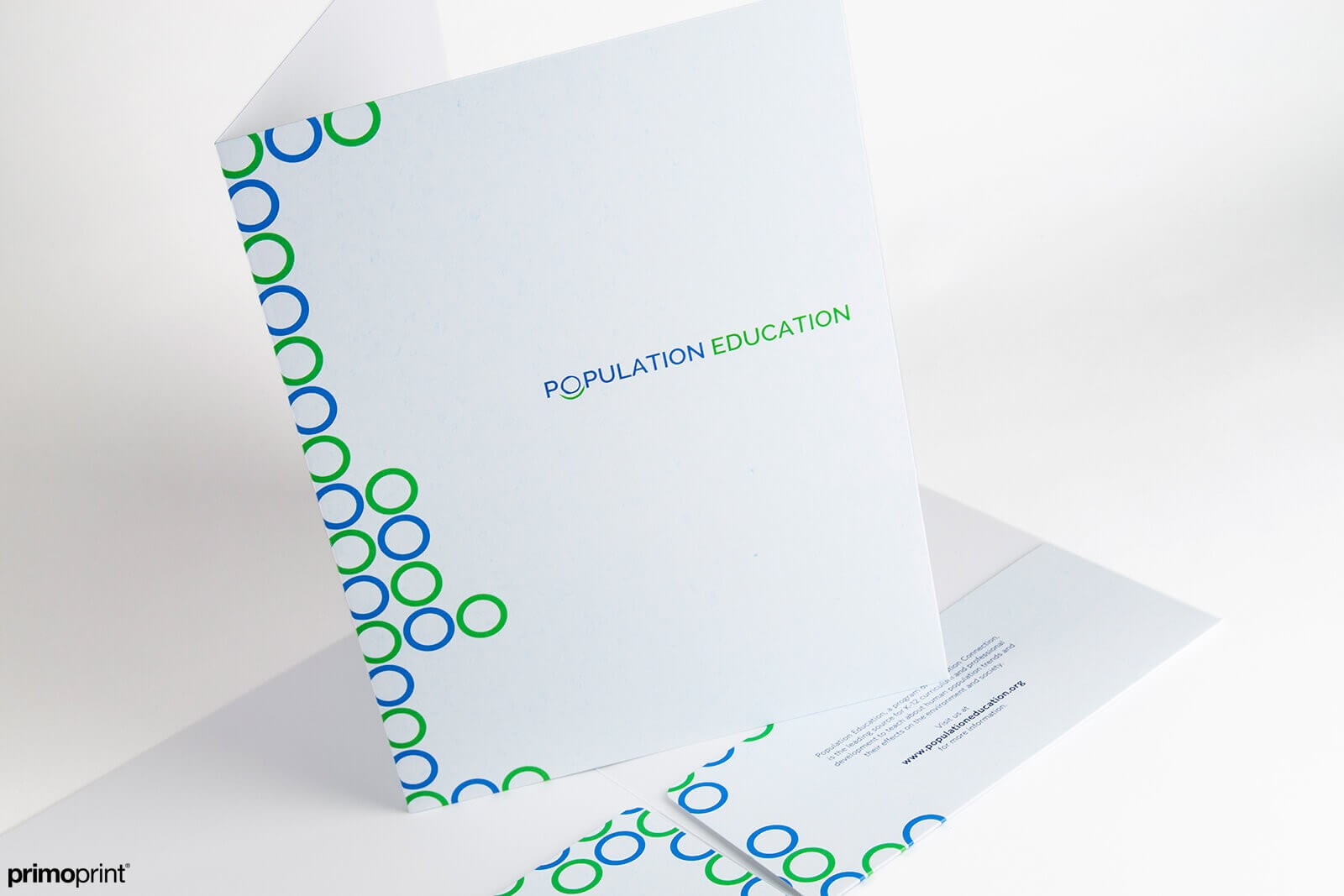 Smooth Uncoated Presentation Folder Printed by Primoprint