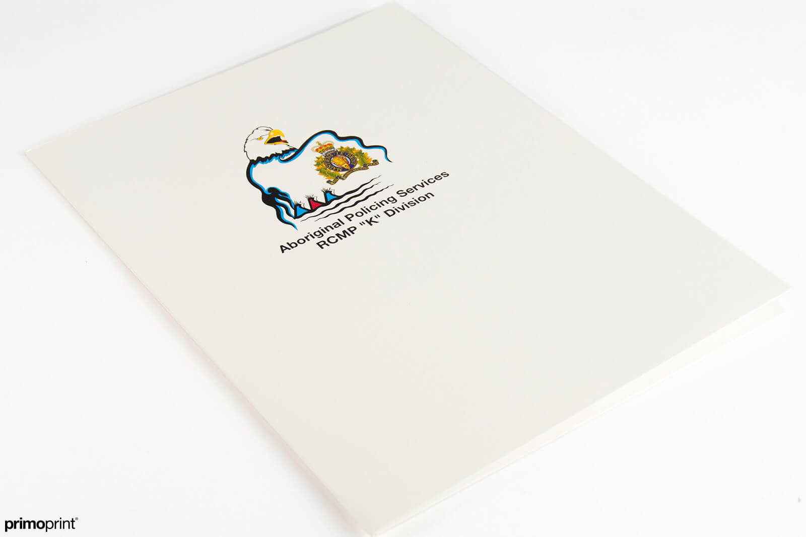 UV Coated Presentation Folder Printed by Primoprint