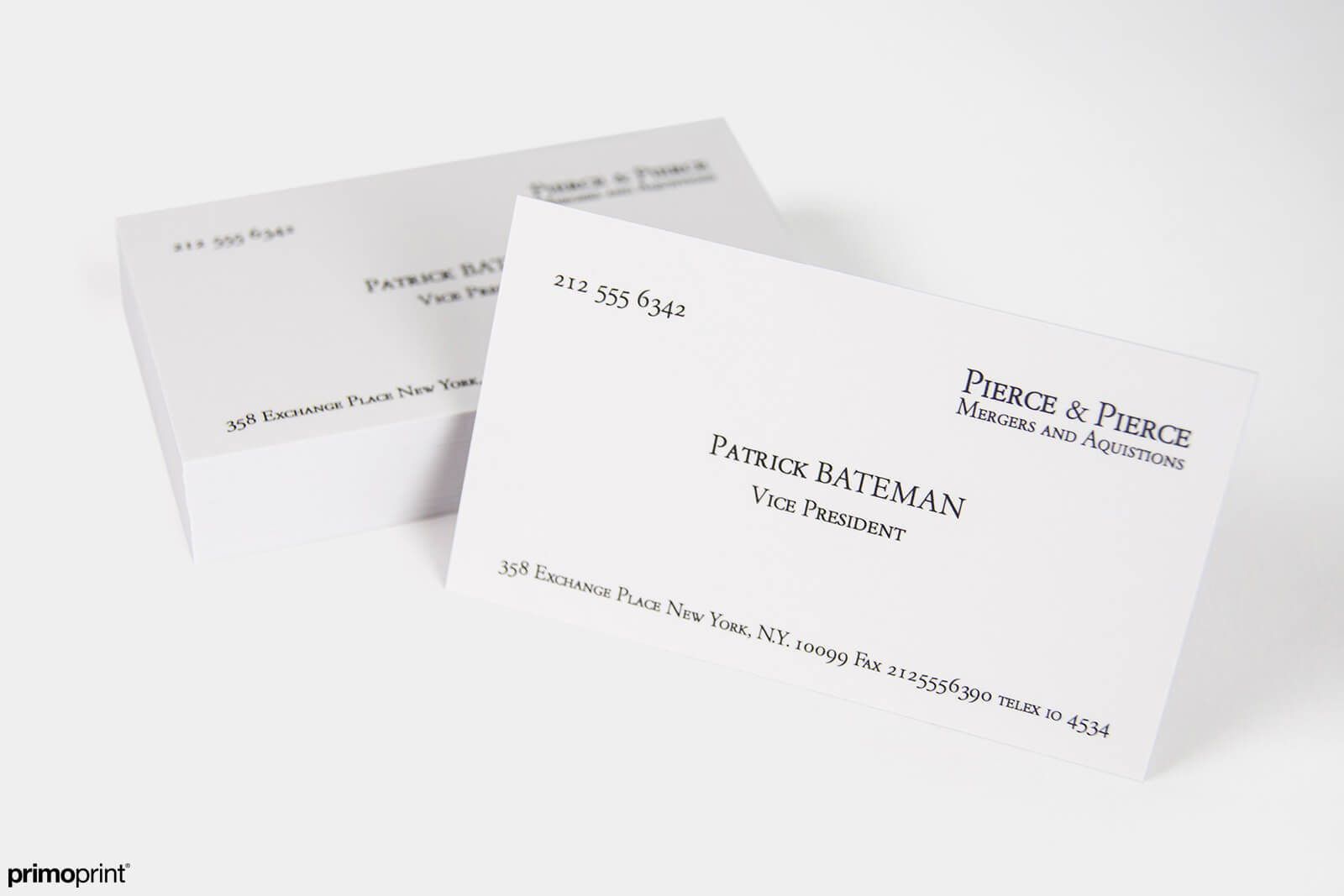 19PT Business Cards | Primoprint